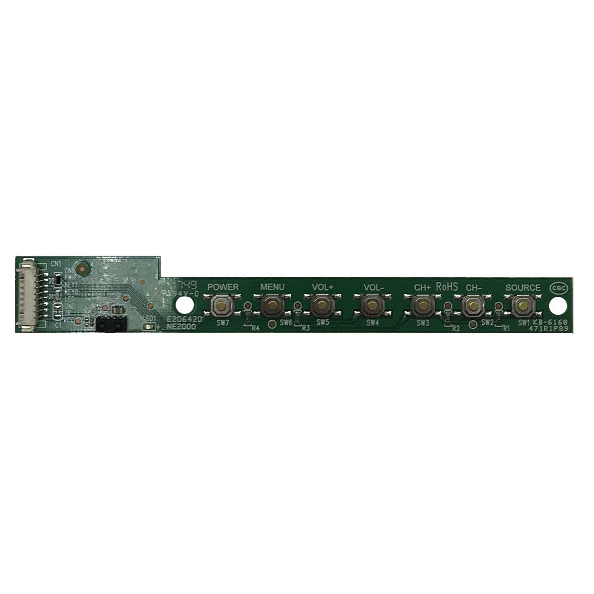ИК-датчик + панель кнопок 4713-5500C1-A2123K01 для Daewoo U43V870VKE