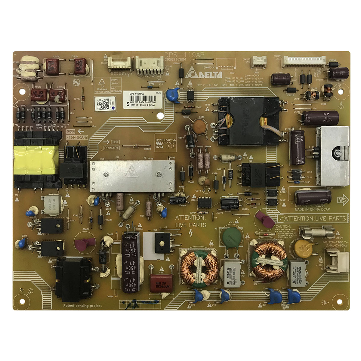 Блок питания DPS-119AP для Philips 40PFL5527T/60, 40PFL5007T/60, 40PFL5507T/60