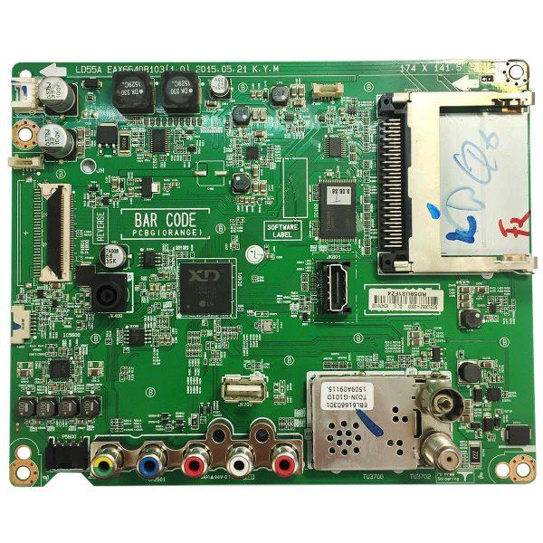 Main Board EAX66408103(1.0) RD59U31FZ4 для LG 43LF510V