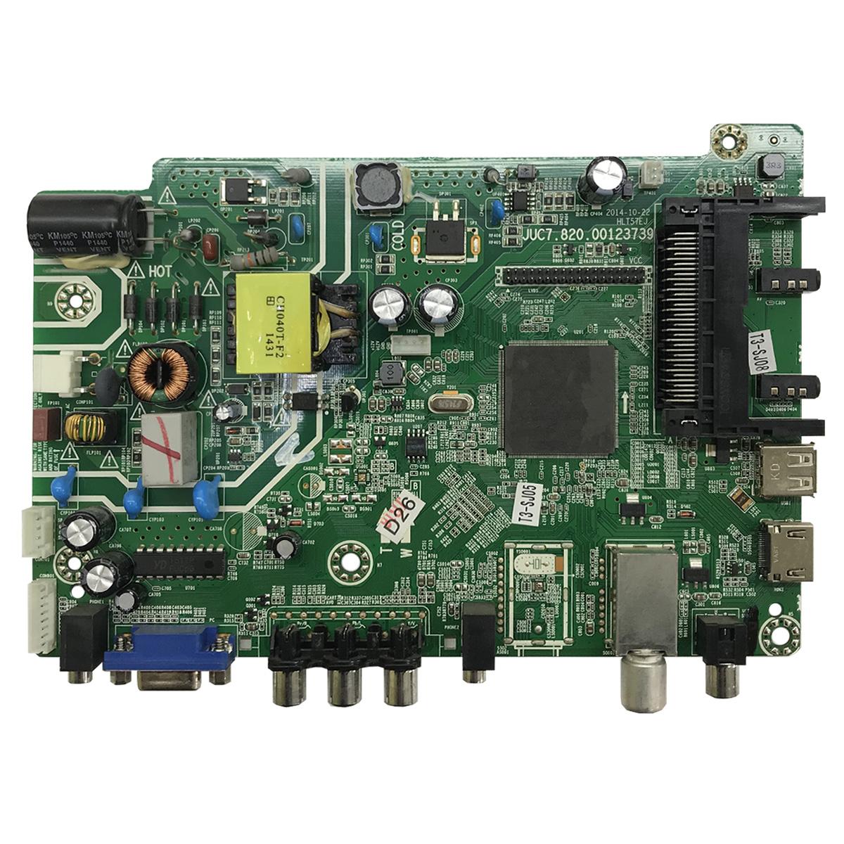 Main Board JUC7.820.00123739 для DEXP F24B7000C