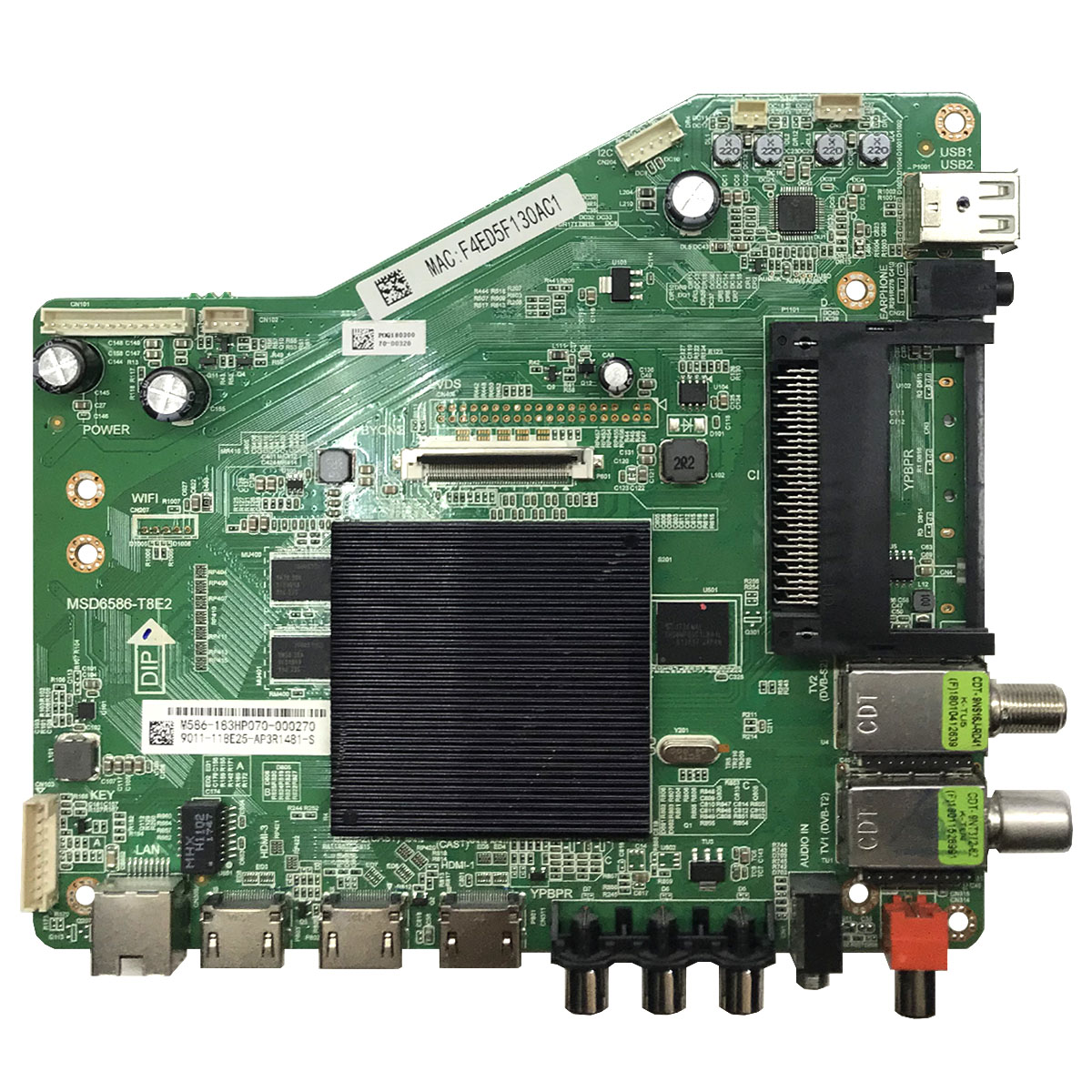 Main Board MSD6586-T8E2 для DAEWOO U43V870VKE